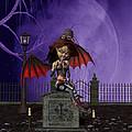 Bat Girl by John Junek