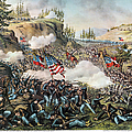Battle Of Chickamauga 1863 by Granger