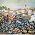 Battle Of Williamsburg by Granger