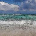 Beach Background by Brandon Bourdages