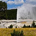 Beehive Geyser by Greg Norrell