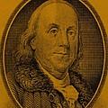 Ben Franklin In Orange by Rob Hans