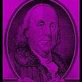 Ben Franklin In Purple by Rob Hans