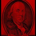 Ben Franklin In Red by Rob Hans