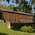 Benetka Road Covered Bridge by At Lands End Photography