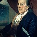 Benjamin Franklin, American Polymath by Photo Researchers