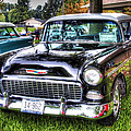Black And White Chevy by John Derby