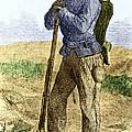 Black Civil War Soldier by Photo Researchers