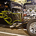 Black Hot Rod Big Engine by Pictures HDR