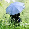 Blue Umbrella by Mats Silvan