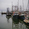 Boat Reflections by Randy Harris