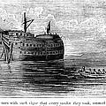 British Prison Ship, 1770s by Granger