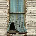 Broken Window In Abandoned House by Jill Battaglia