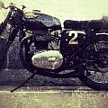 Bsa Motorbike by The Artist Project