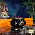 Buddhist Altar by Yali Shi