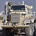 Buffalo Mine Protected Vehicle by Terry Moore