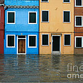 Burano Italy 1 by Mike Nellums