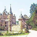 Burg Satsvey Germany by Joseph Hendrix