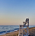 Cape Cod Lifeguard Stand by John Greim