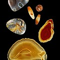 Carnelian Agate by Paul Biddle