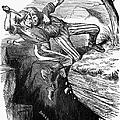 Cartoon: Civil War, 1862 by Granger