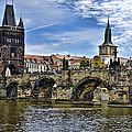 Charles Bridge - Prague by Jon Berghoff