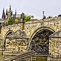 Charles Bridge And Prague Castle by Jon Berghoff