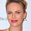 Charlize Theron Wearing A Jennifer Behr by Everett