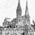 Chartres Cathedral by Granger