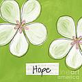 Cherry Blossom Hope by Linda Woods
