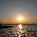 Chesapeake Bay Sunset by Bill Cannon