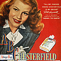 Chesterfield Cigarette Ad by Granger
