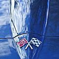 Chevrolet Corvette Hood Emblem by Jill Reger