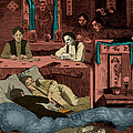 Chinatown Opium Den by Photo Researchers