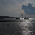 Christchurch Harbour Viewed From Mudeford by Chris Day