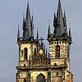 Church Of Our Lady Before Tyn - Prague Cz by Christine Till