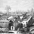 Civil War: Prison, 1864 by Granger