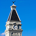 Clarksville Historic Courthouse Tower by Ed Gleichman