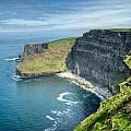 Cliff Of Moher 31 by Douglas Barnett