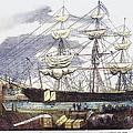 Clipper Ship, 1851 by Granger