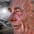 Close-up Profile Robert John K. by John Herzog