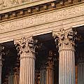 Closeup Of The U.s. Supreme Court by Kenneth Garrett