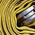 Coiled Fire Hose by Skip Nall