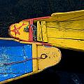 Colorful Boats, Srinagar, Dal Lake by David DuChemin