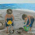 Cool Water Warm Sand by Criselda Kelley