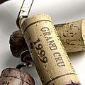 Corks Of French Wine by Bernard Jaubert