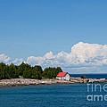 Cove Island Lighthouse by Barbara McMahon