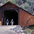 Covered Bridge Walkers by BuffaloWorks Photography