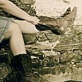 Cowboy Boots by Joana Kruse