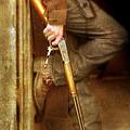 Cowboy With Guns  by Jill Battaglia